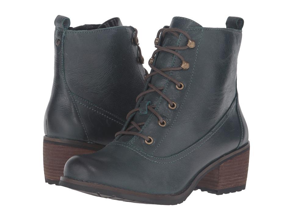 Aetrex - Essence Skyler (Pacific Blue) Women's Lace-up Boots