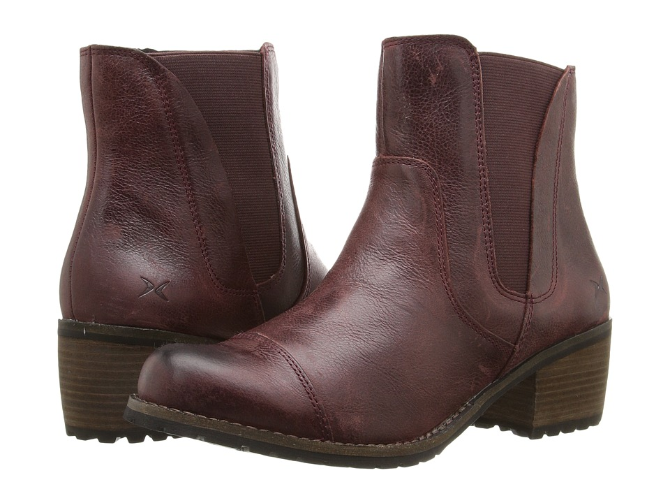 Aetrex - Essence Autumn (Merlot) Women's Pull-on Boots