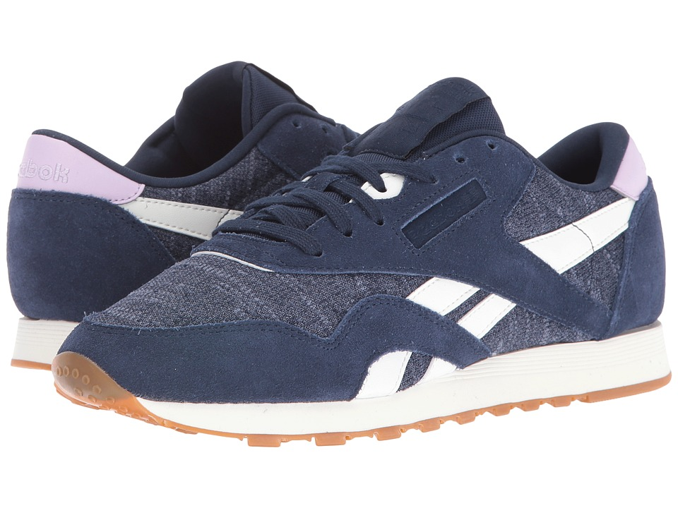 Reebok Lifestyle - Classic Nylon WR (Collegiate Navy/Royal Slate/Chalk/Purple Freeze) Women's Shoes