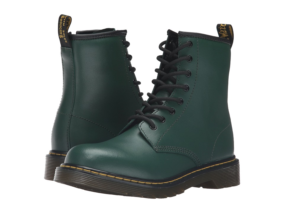 Dr. Martens Kid's Collection - Delaney Boots (Big Kid) (Green) Kids Shoes