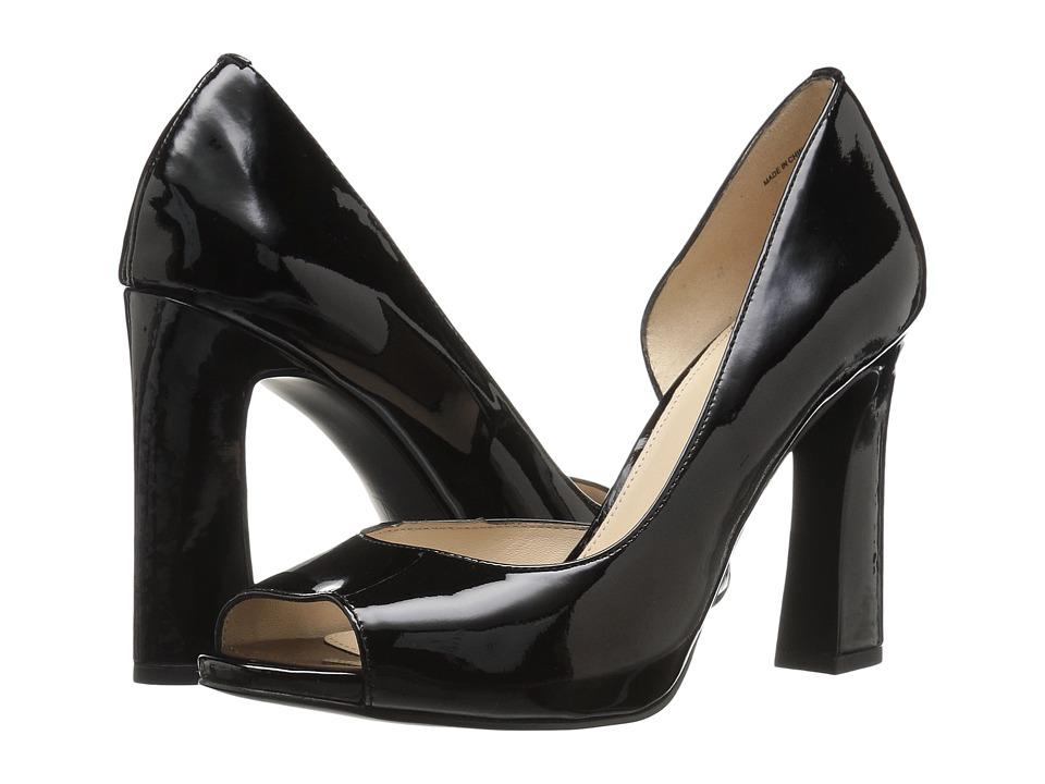Pelle Moda - Nolan (Black Patent) High Heels