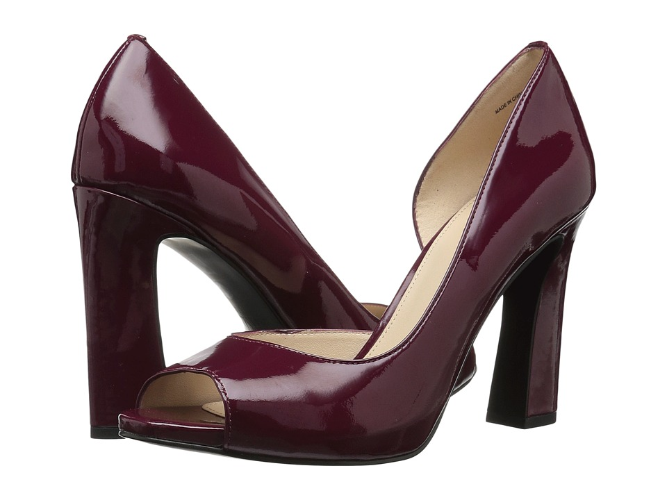 Pelle Moda - Nolan (Elderberry Patent) High Heels
