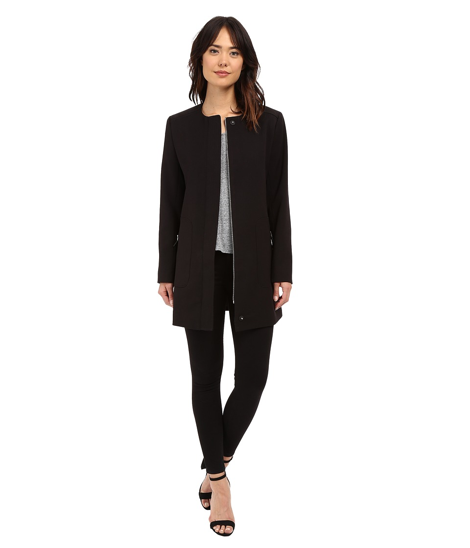 Kenneth Cole New York - Mod Coat (Black) Women's Coat