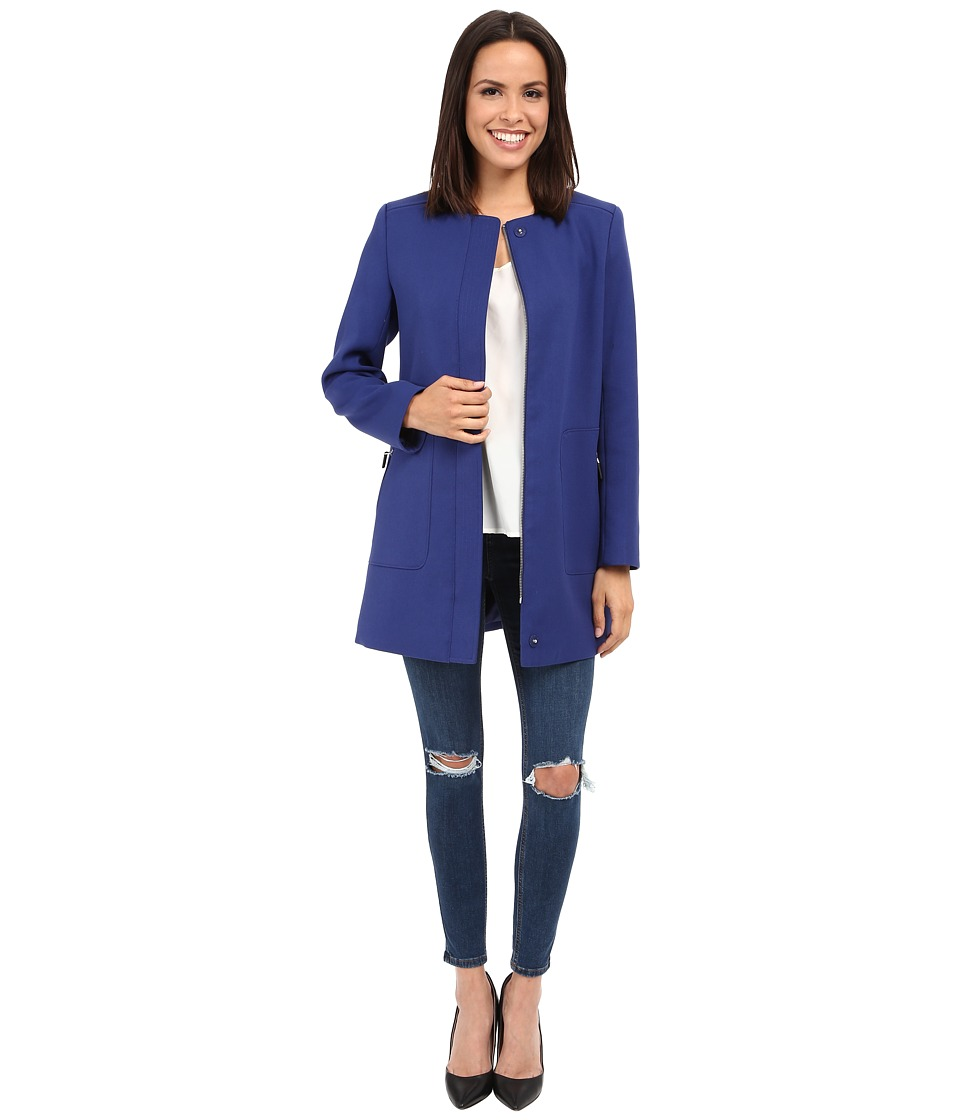 Kenneth Cole New York - Mod Coat (Sapphire) Women's Coat