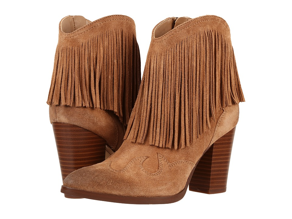 Sam Edelman - Benjie (Golden Caramel Velour Suede Leather) Women's Shoes