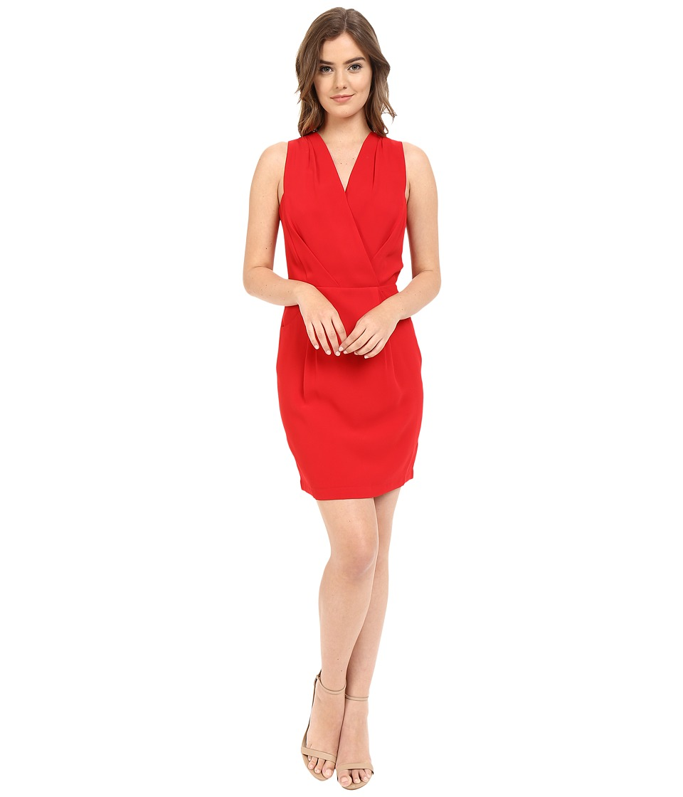 Adelyn Rae - Surplus Top Sleeveless Dress (Red) Women's Dress