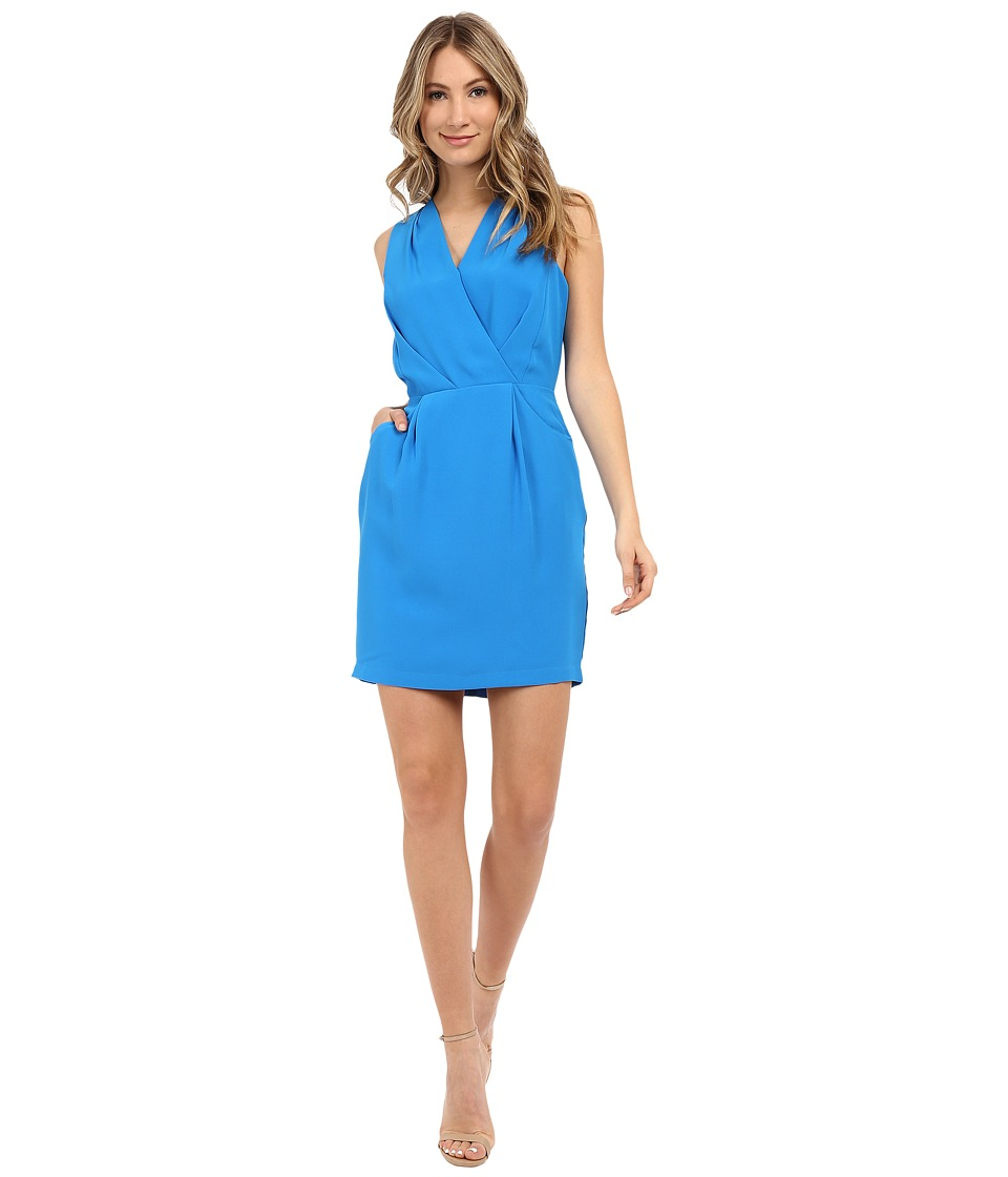 Adelyn Rae - Surplus Top Sleeveless Dress (Cyan) Women's Dress