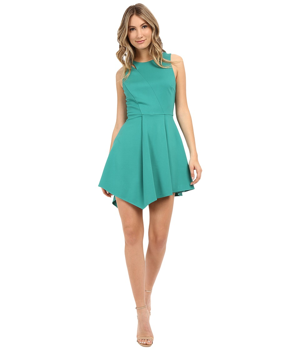 Adelyn Rae - Asymetrical Hem Sleeveless Dress (Seafoam) Women's Dress