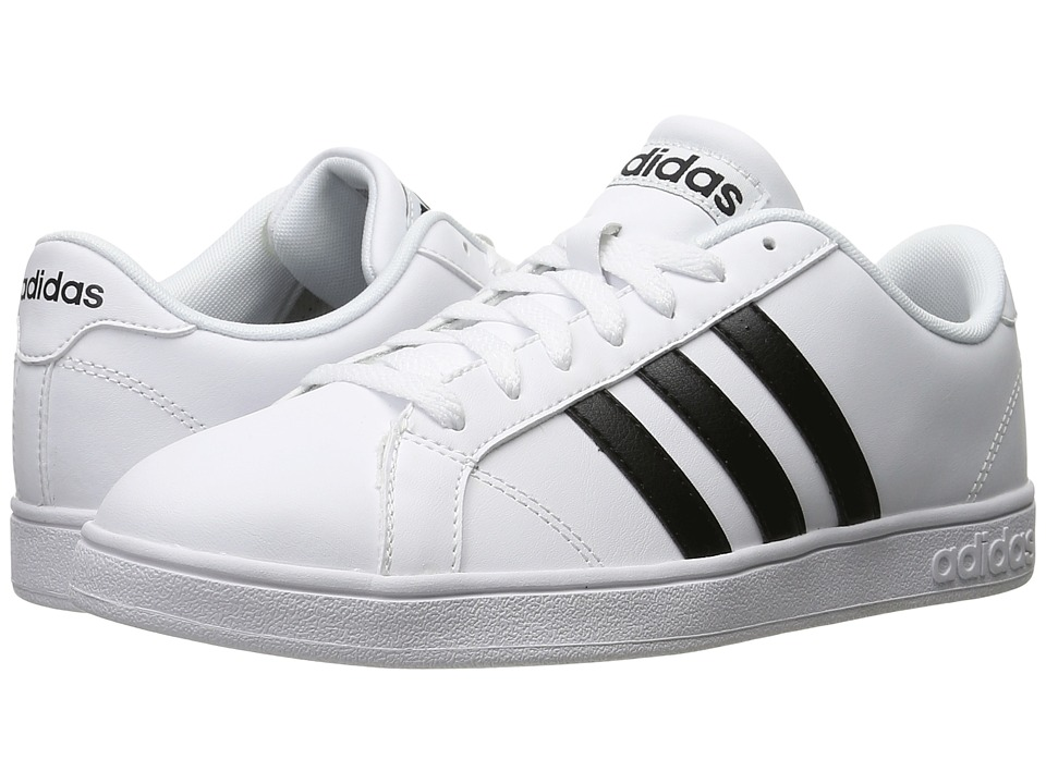 adidas - Baseline (White/Black) Men's Basketball Shoes