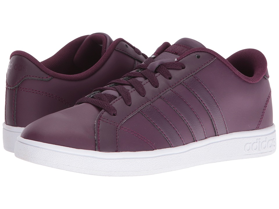 adidas - Baseline (Merlot/White) Women's Lace up casual Shoes