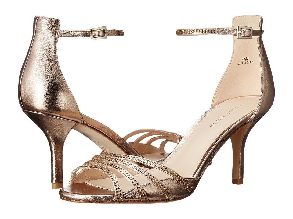 Pelle Moda - Isabel (Platinum Gold Silk/Metallic Kid) Women's Shoes
