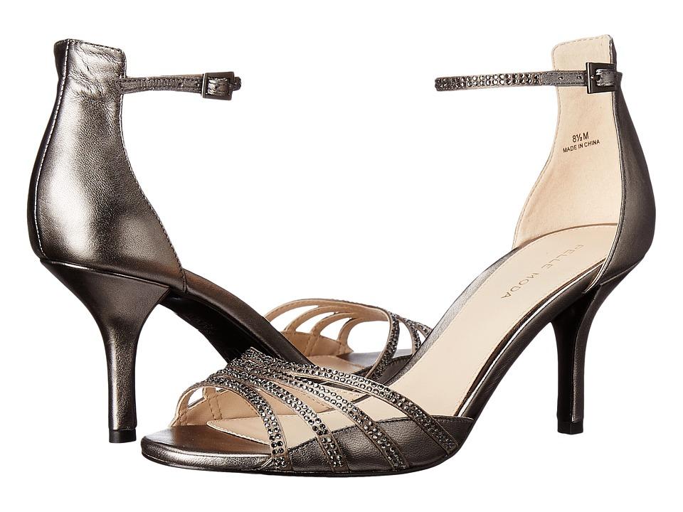 Pelle Moda - Isabel (Pewter Silk/Metallic Kid) Women's Shoes