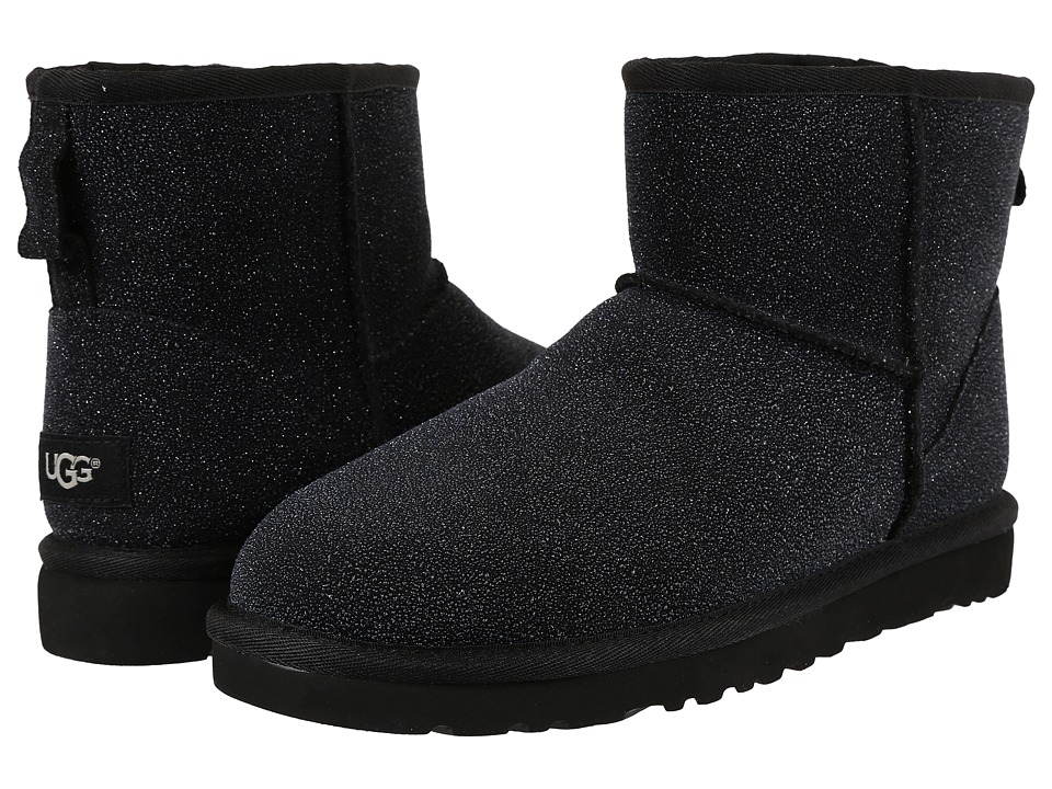 UGG - Classic Mini Serein (Black) Women's Boots