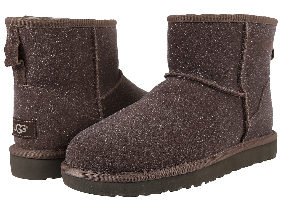 UGG - Classic Mini Serein (Stormy Grey) Women's Boots
