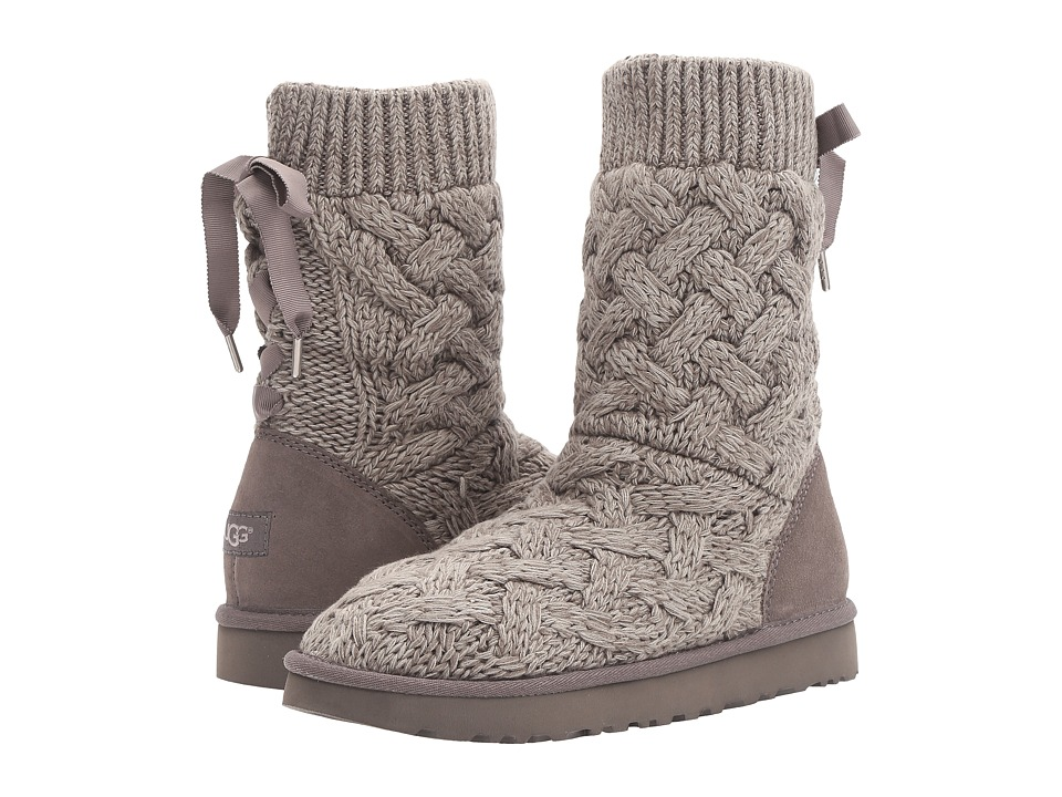 UGG - Isla (Heathered Charcoal) Women's Boots