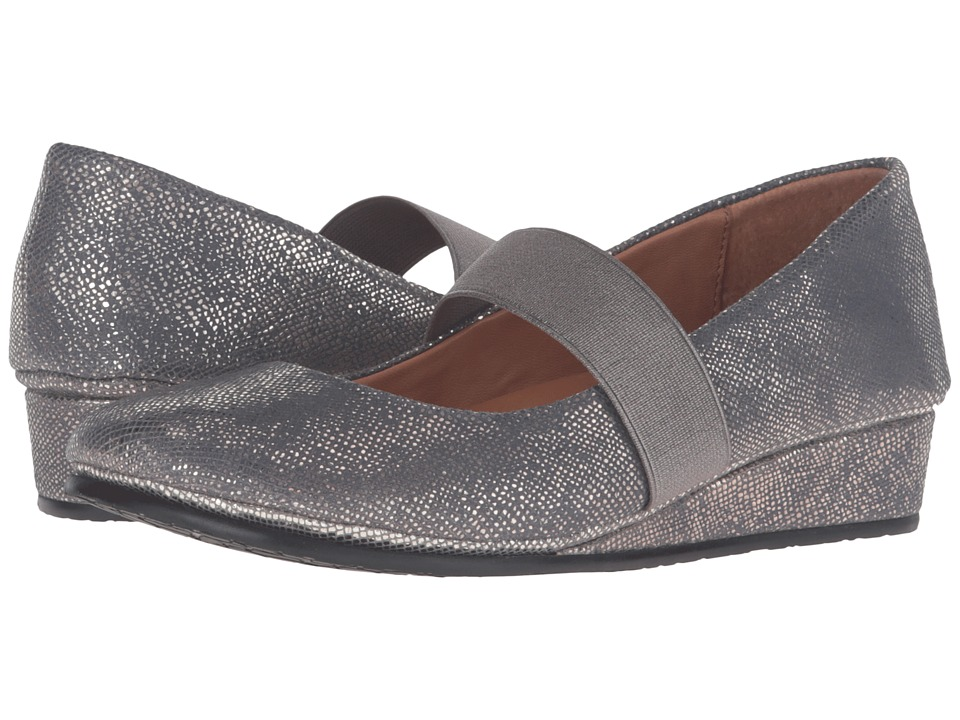 Gentle Souls - Aria (Charcoal) Women's Flat Shoes