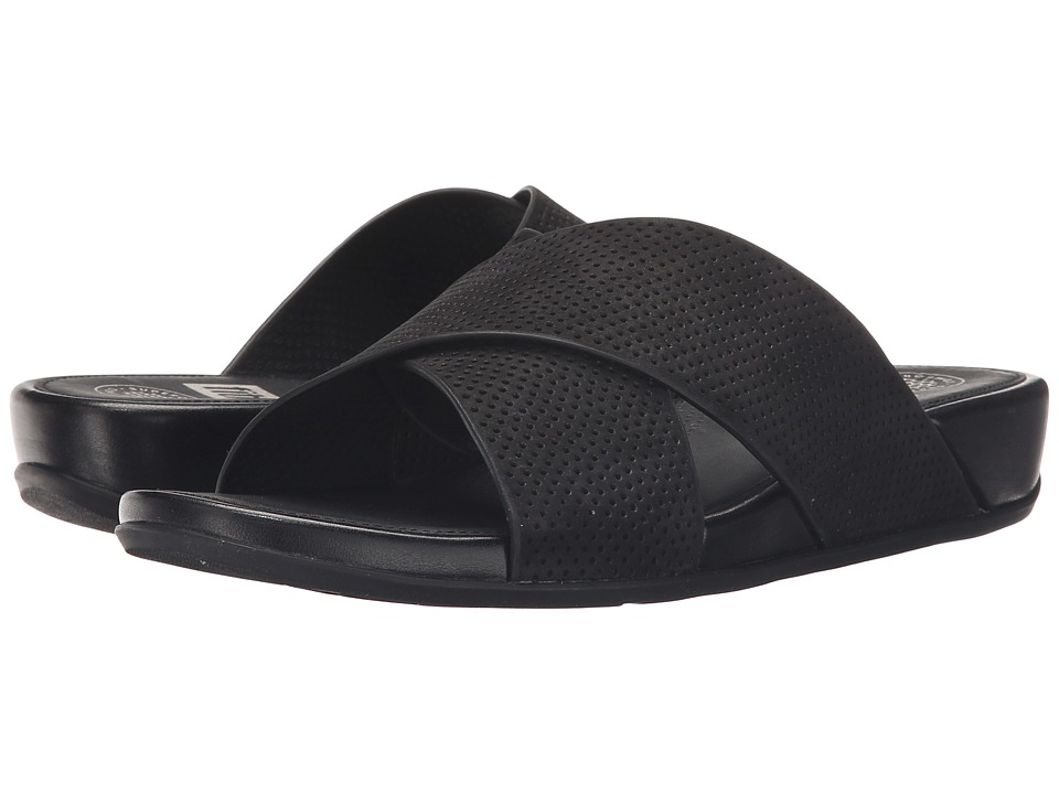 FitFlop Aix Slide Perf (Black) Women
