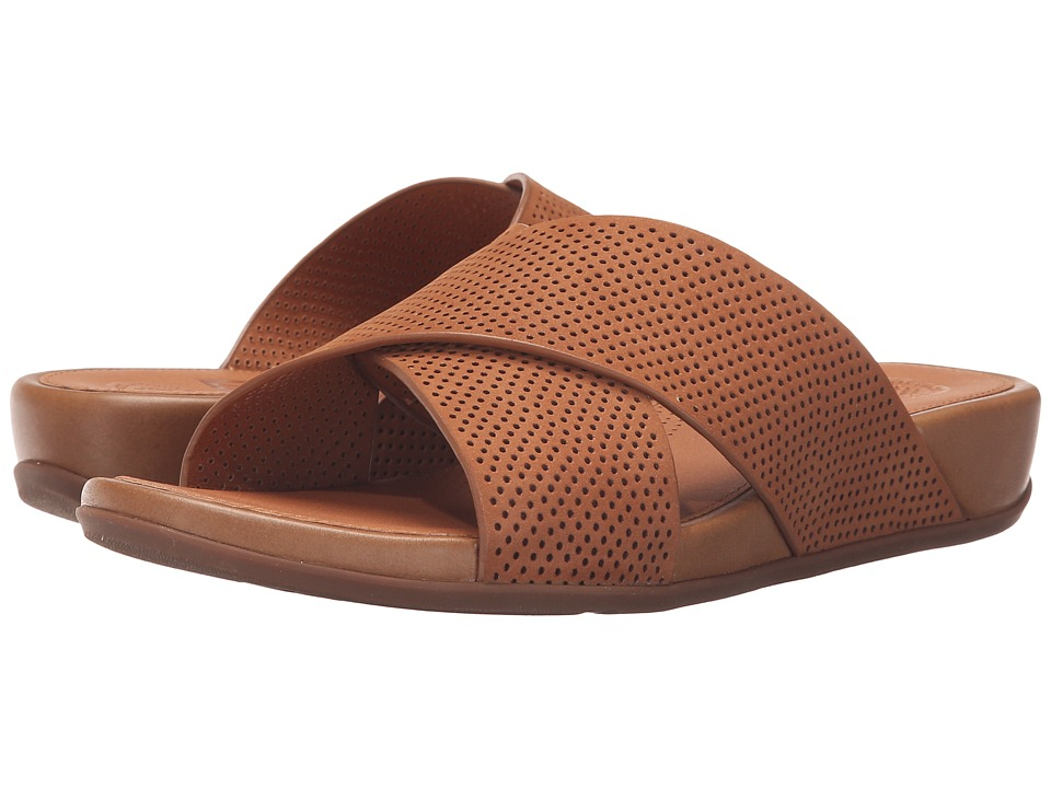 FitFlop - Aix Slide Perf (Tan) Women's Sandals