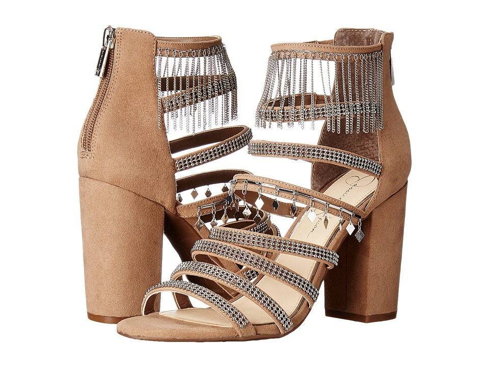 Jessica Simpson Katalena Totally Taupe Microsuede Womens Shoes