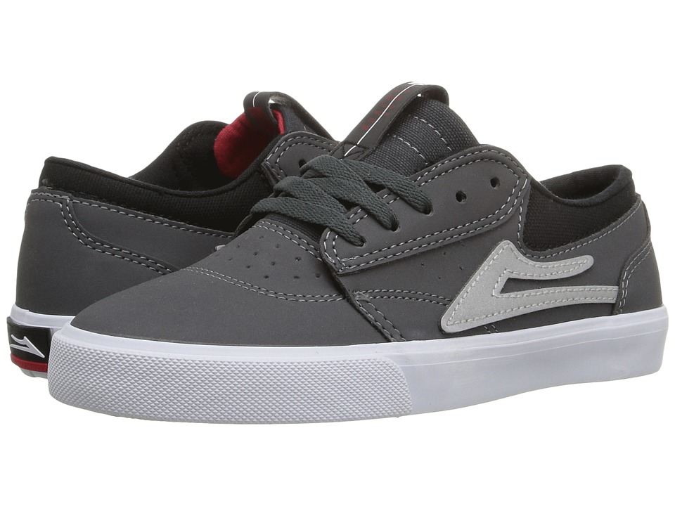 Lakai - Griffin (Little Kid/Big Kid) (Grey Synthetic) Men's Skate Shoes