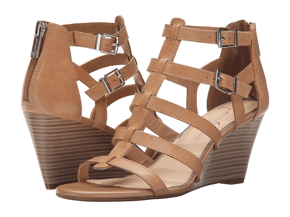 Jessica Simpson - Shalon (Buff Ruby Tumbled) Women's Shoes
