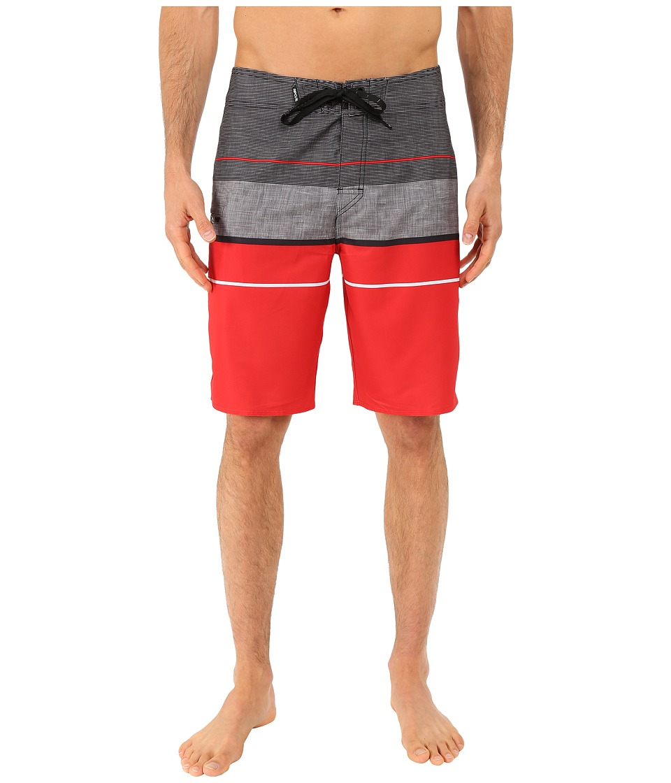 Rip Curl - Mirage MF Focus Boardshorts (Red) Men's Swimwear