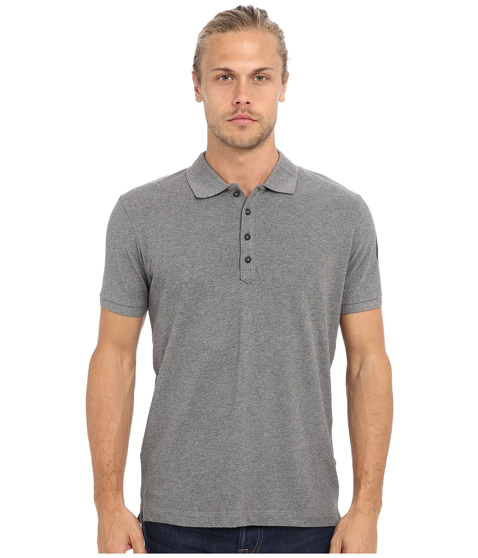 Diesel - T-Daniel-AZ Shirt (Dark Grey) Men's Short Sleeve Pullover