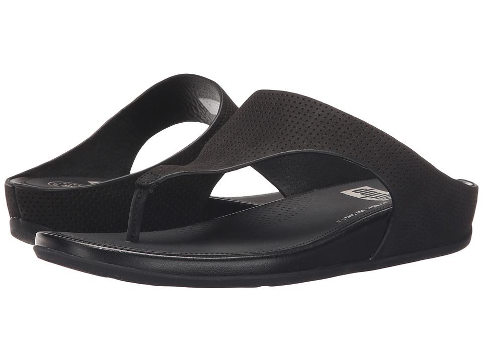 FitFlop - Banda Perf (Black) Women's Sandals