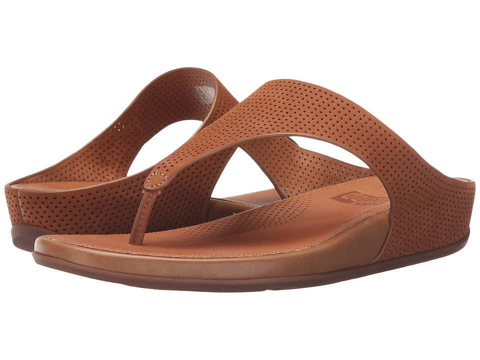 FitFlop - Banda Perf (Tan) Women's Sandals