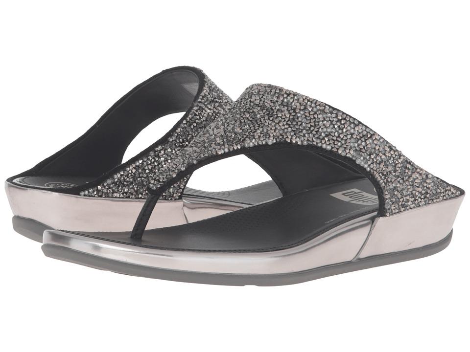 FitFlop - Banda Roxy (Pewter1) Women's Sandals
