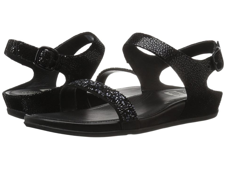 FitFlop - Banda Roxy Sandal (Black) Women's Sandals