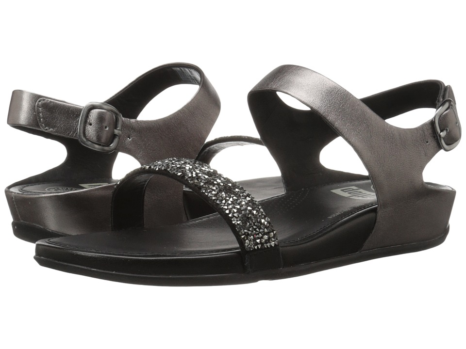 FitFlop - Banda Roxy Sandal (Pewter) Women's Sandals
