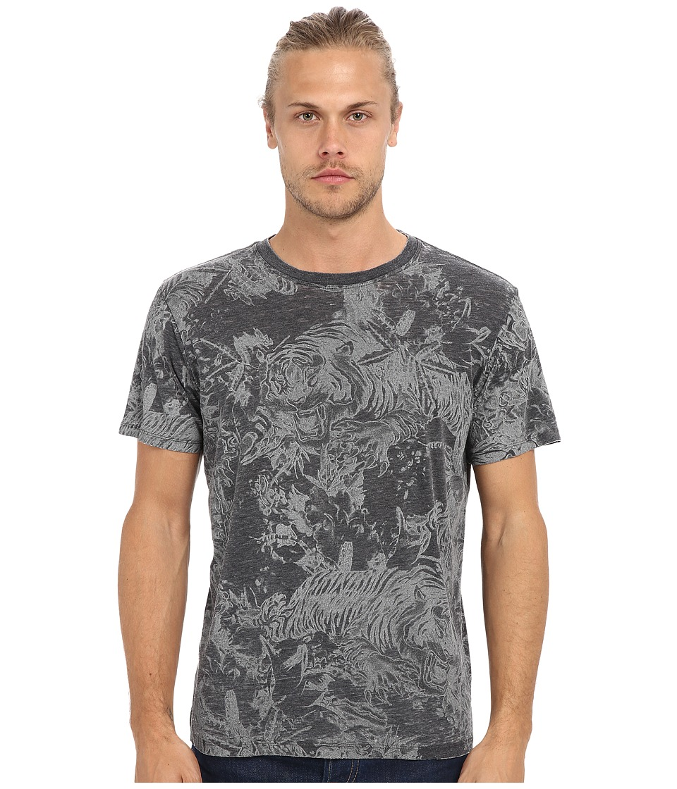 Diesel - T-Joe-AJ T-Shirt (Black) Men's Short Sleeve Pullover