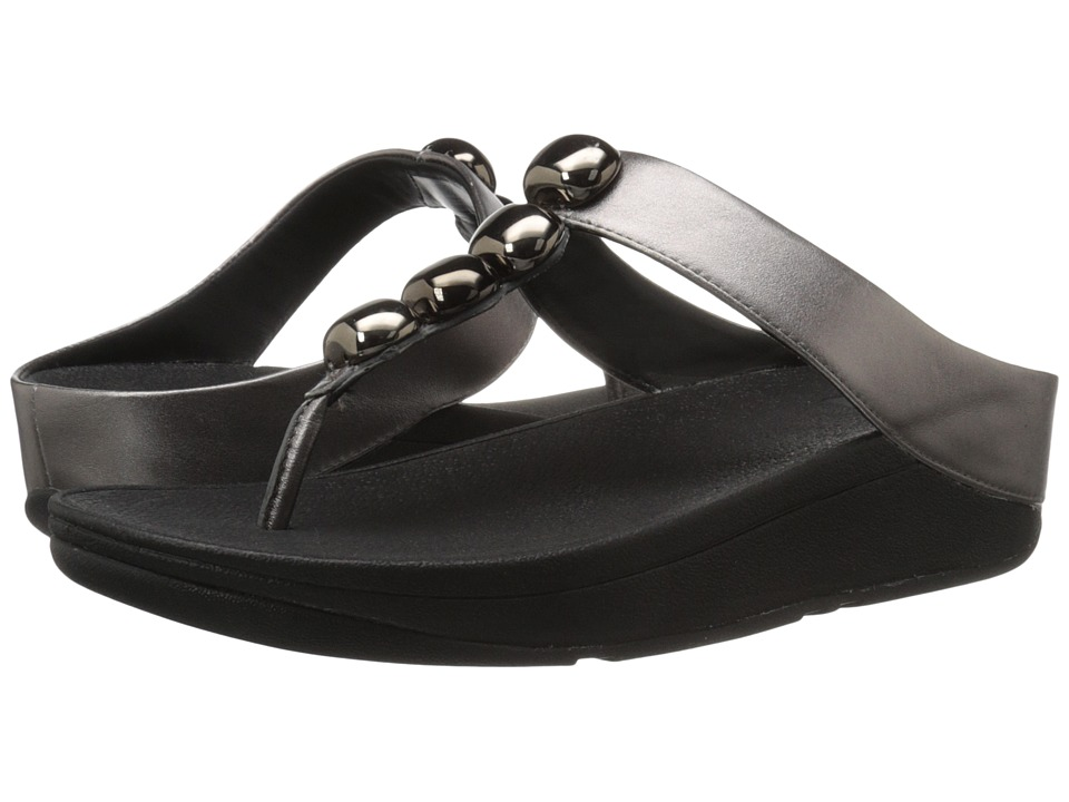 FitFlop - Rola (Pewter) Women's Sandals