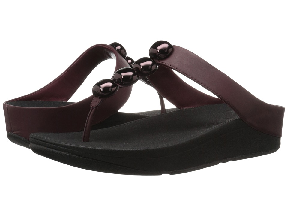 FitFlop - Rola (Hot Cherry) Women's Sandals