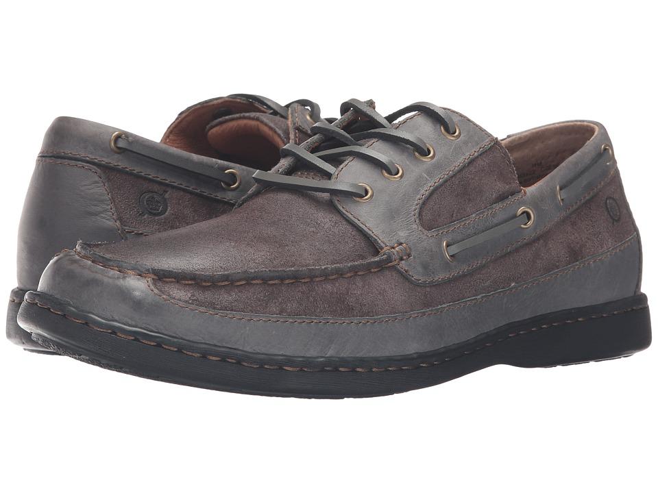 Born - Harwich (Peltro/Neutral Grey) Men's Slip on Shoes