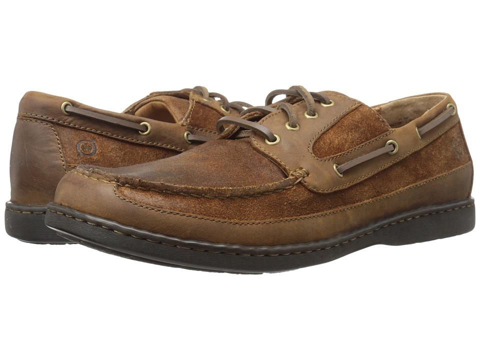 Born - Harwich (Bark/Brown Sugar) Men's Slip on Shoes