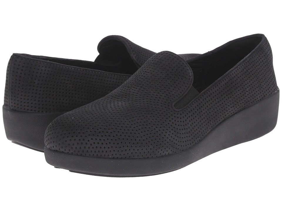 FitFlop Pop Skate Perf (Black) Women