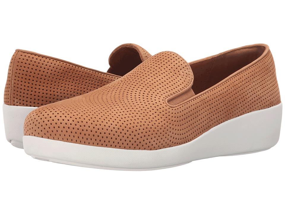 FitFlop Pop Skate Perf (Tan) Women