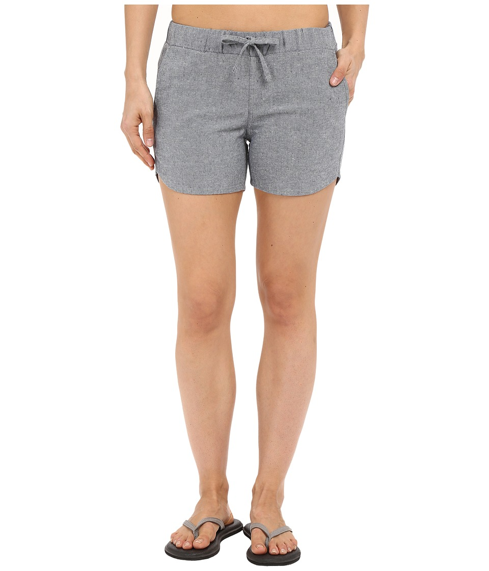 United By Blue - Zion Chambray Shorts (Blue) Women's Shorts