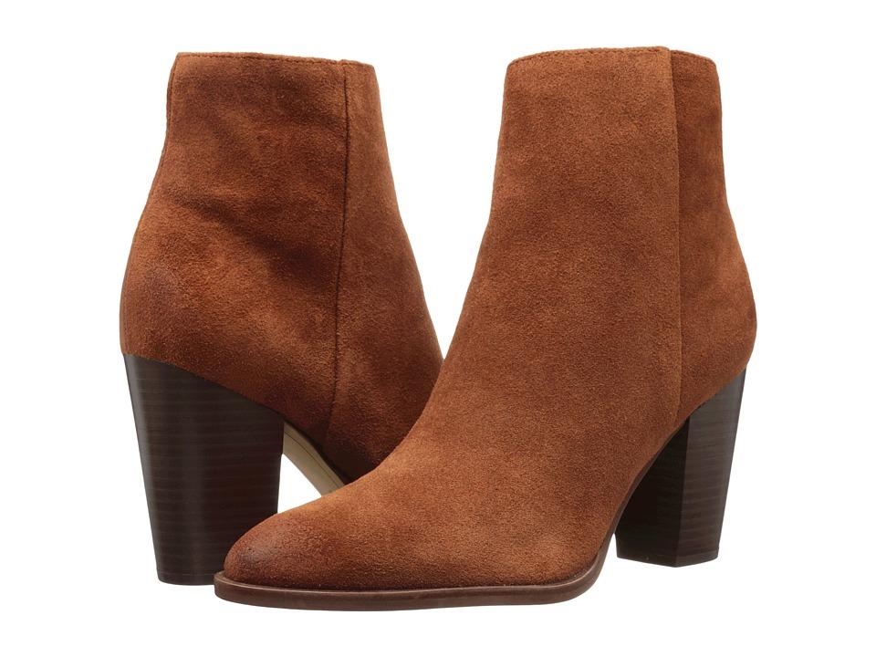 Sam Edelman Blake (Cinnamon Velour Suede Leather) Women