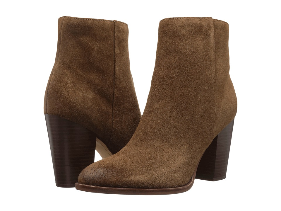 Sam Edelman - Blake (Woodland Brown Velour Suede Leather) Women's Shoes