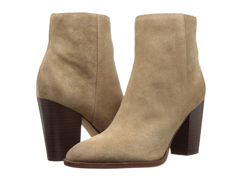 Sam Edelman Blake (Oatmeal Velour Suede Leather) Women