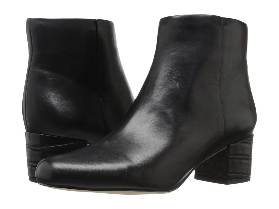 Sam Edelman Edith (Black Modena Calf Leather) Women