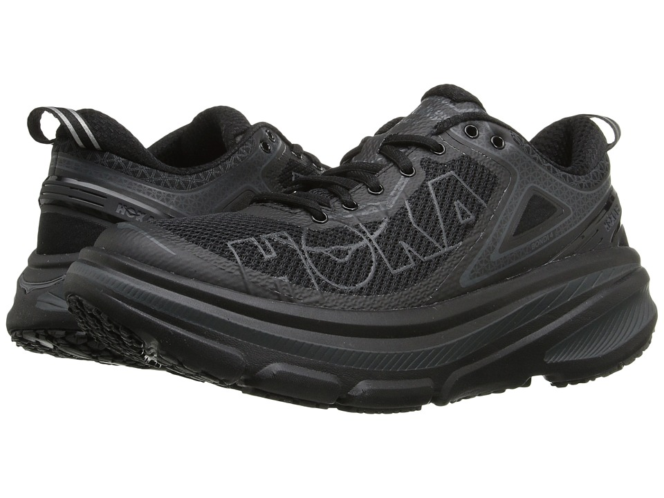 Hoka One One - Bondi 4 (Black) Women's Running Shoes