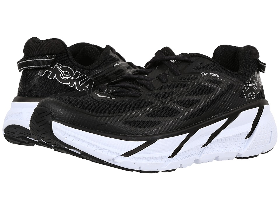 Hoka One One - Clifton 3 (Black/Anthracite) Women's Shoes