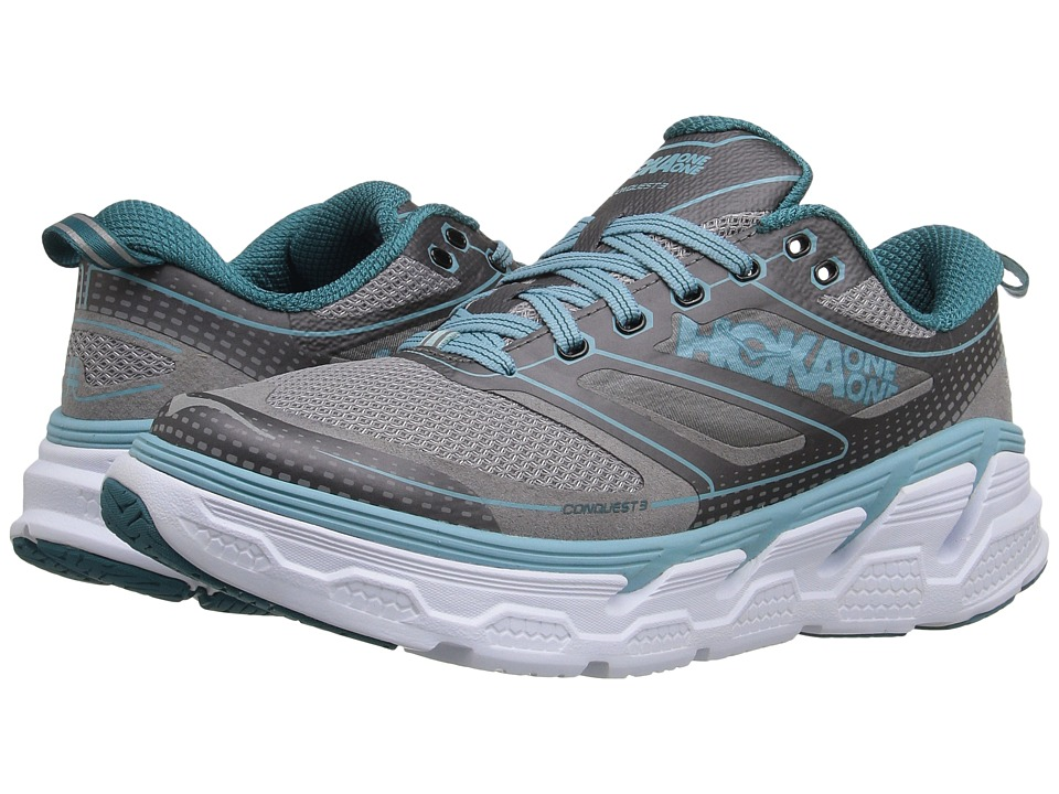 Hoka One One - Conquest 3 (Pavement/Gull) Women's Shoes