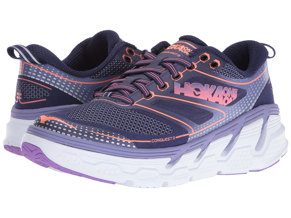 Hoka One One - Conquest 3 (Astral Aura/Corsican Blue) Women's Shoes