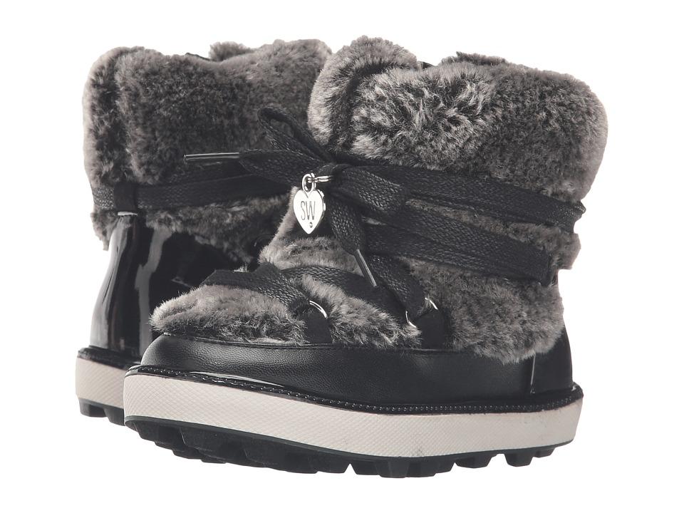 Stuart Weitzman Kids - Ariana Snow Boot (Toddler/Little Kid) (Black) Girls Shoes
