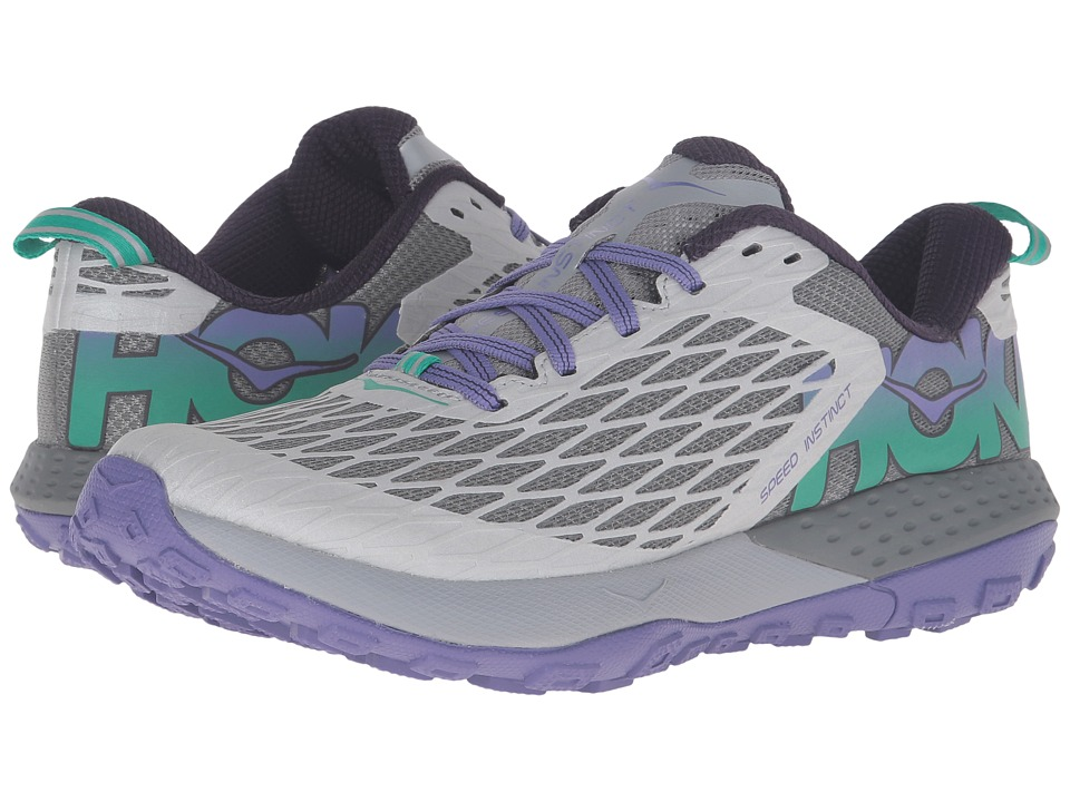 Hoka One One - Speed Instinct (Grey/Corsican Blue) Women's Shoes
